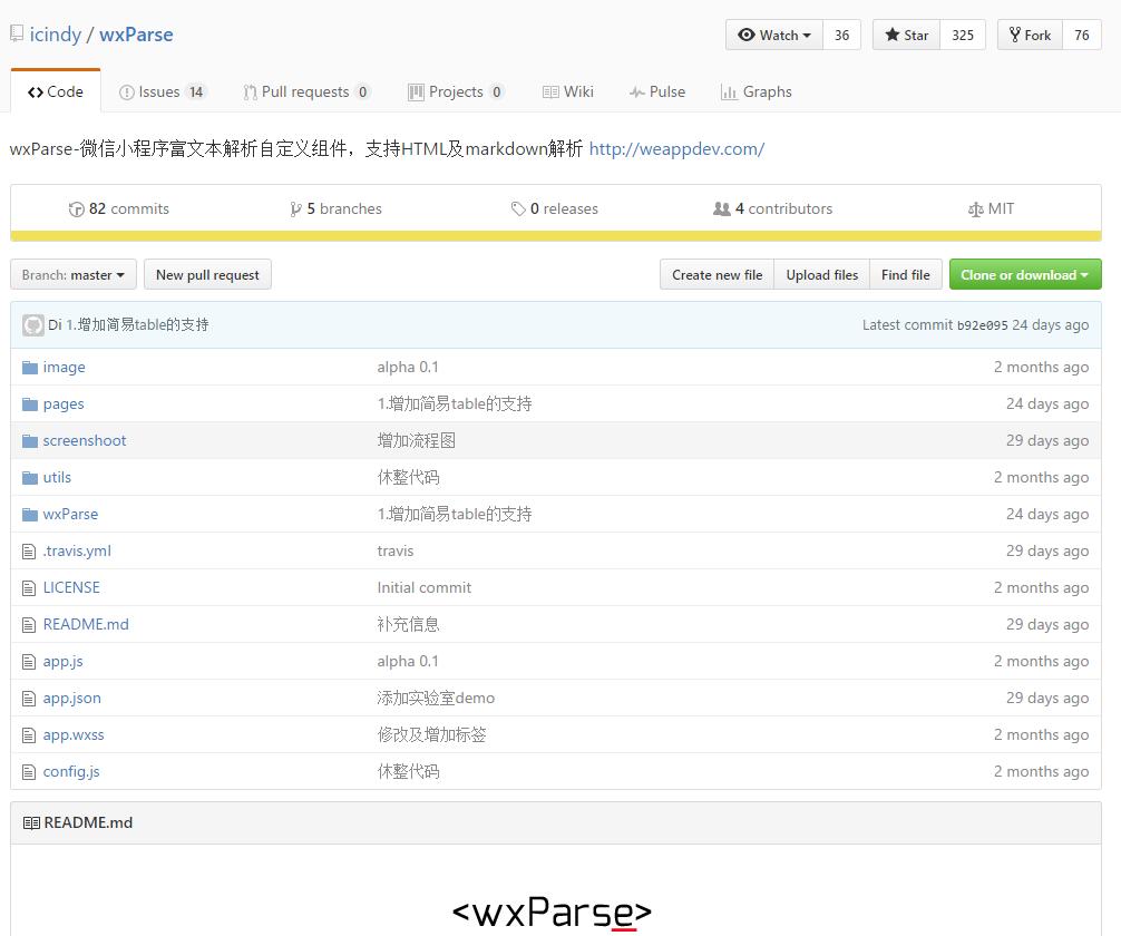 微信小程序中显示html格式内容的方法 wxParse